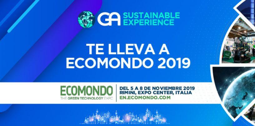 GA Sustainable Experience te lleva a ECOMONDO 2019