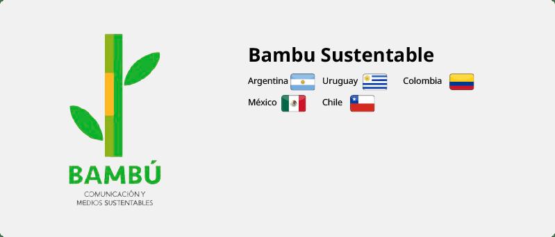 BAMBU SUSTENTABLE