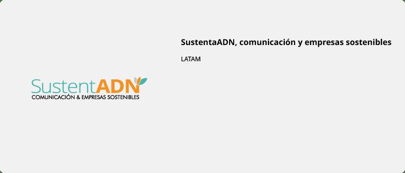 SustentaADN, comunicación y empresas sostenibles