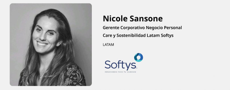 Entrevista  Nicole Sansone – Softys Latam