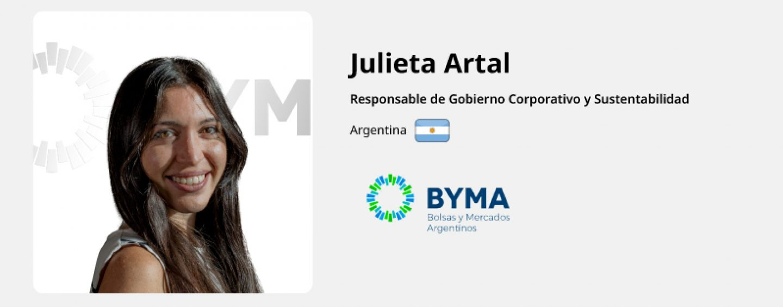 Entrevista Julieta Artal – BYMA
