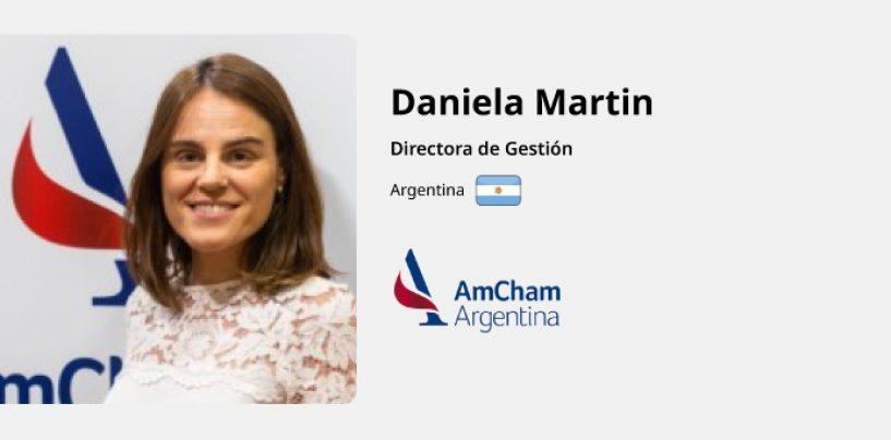 Entrevista a Daniela Martin – AmCham Argentina