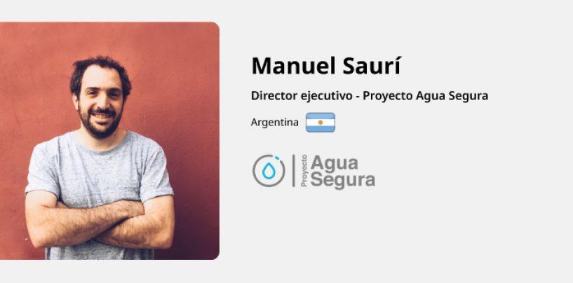 Entrevista a Manuel Saurí – Proyecto Agua Segura